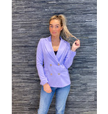 Rinascimento Rinascimento double-breasted blazer lila