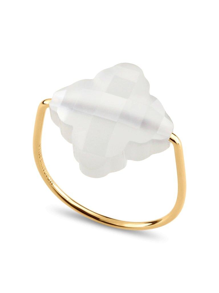 Morganne Bello Morganne Bello Barok ring maansteen goud