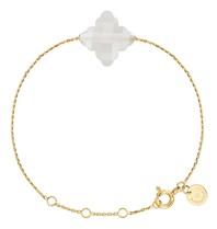 Morganne Bello Morganne Bello Barok armband maansteen goud