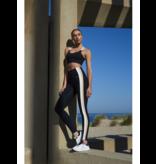 deblon sports Deblon Sports Ashley leggings zwart sand off white