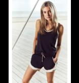 deblon sports Deblon Sports Kate top zwart sand off white