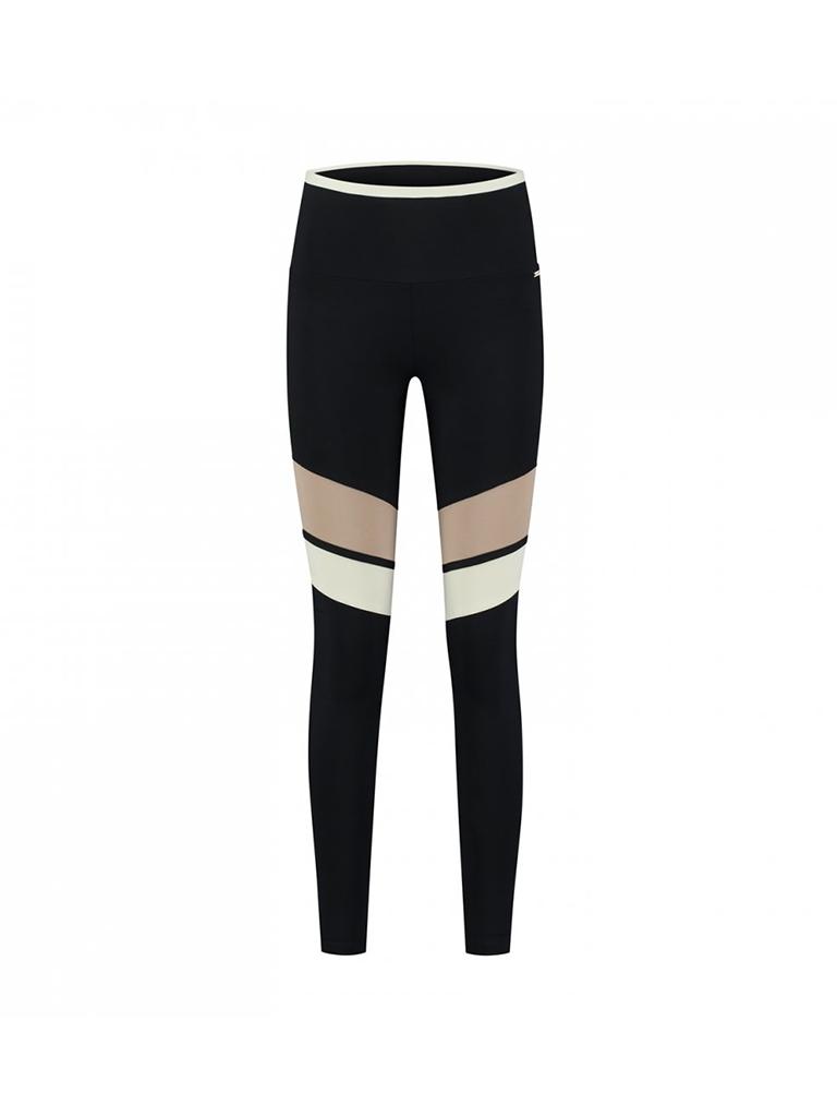 deblon sports Deblon Sports Bailey legging zwart sand off white