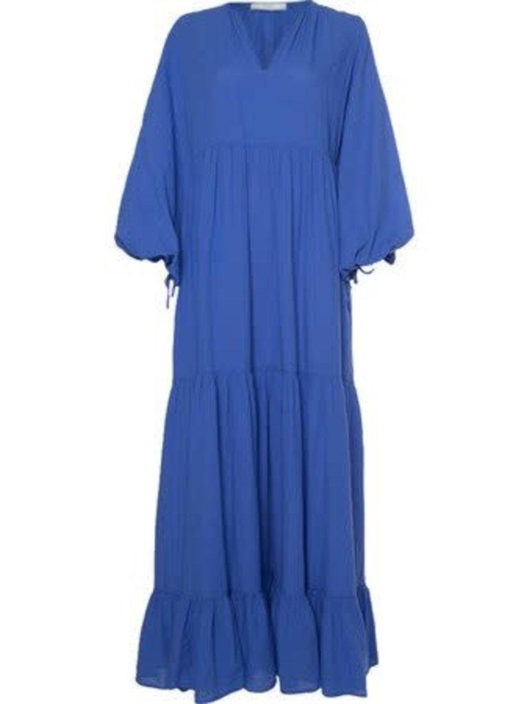 Devotion Devotion Devotion Fortaleza maxi jurk blauw