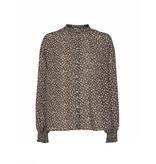 Co'couture Co'Couture Celine breeze flower shirt zwart