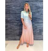 DMN Paris DMN Paris Redonna maxi jurk met verloop multicolor