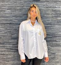 DMN Paris DMN Paris Selma blouse met broderie blanc