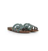 Sam Edelman Sam Edelman Bay croco slipper blauw