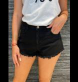 Rinascimento Rinascimento denim shorts zwart