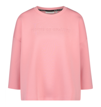House of Gravity House of Gravity signature sweater flamingo pink