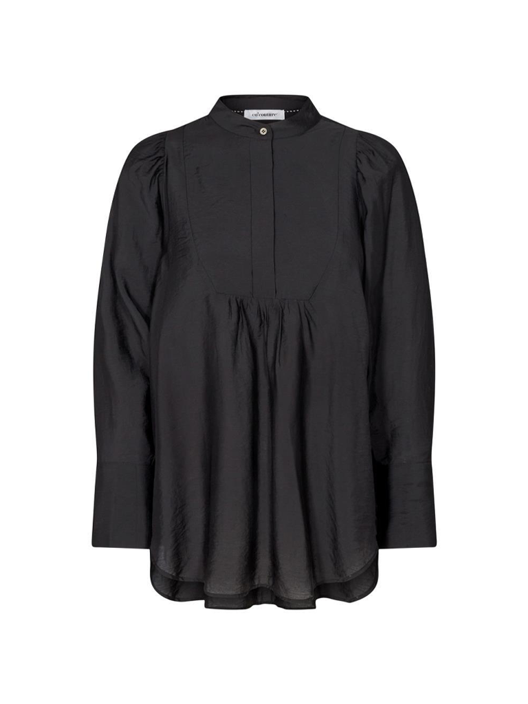 Co'couture Co'Couture Callum volume blouse zwart