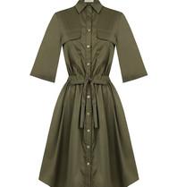 Rinascimento Rinascimento Military jurk groen