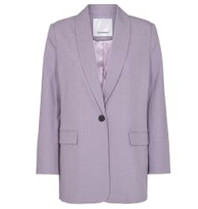 Co'couture Co'Couture Prince blazer paars