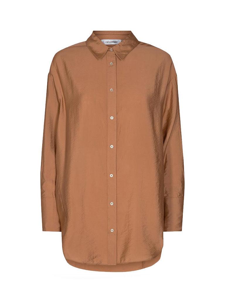 Co'couture Co'Couture Callum oversize shirt suntan