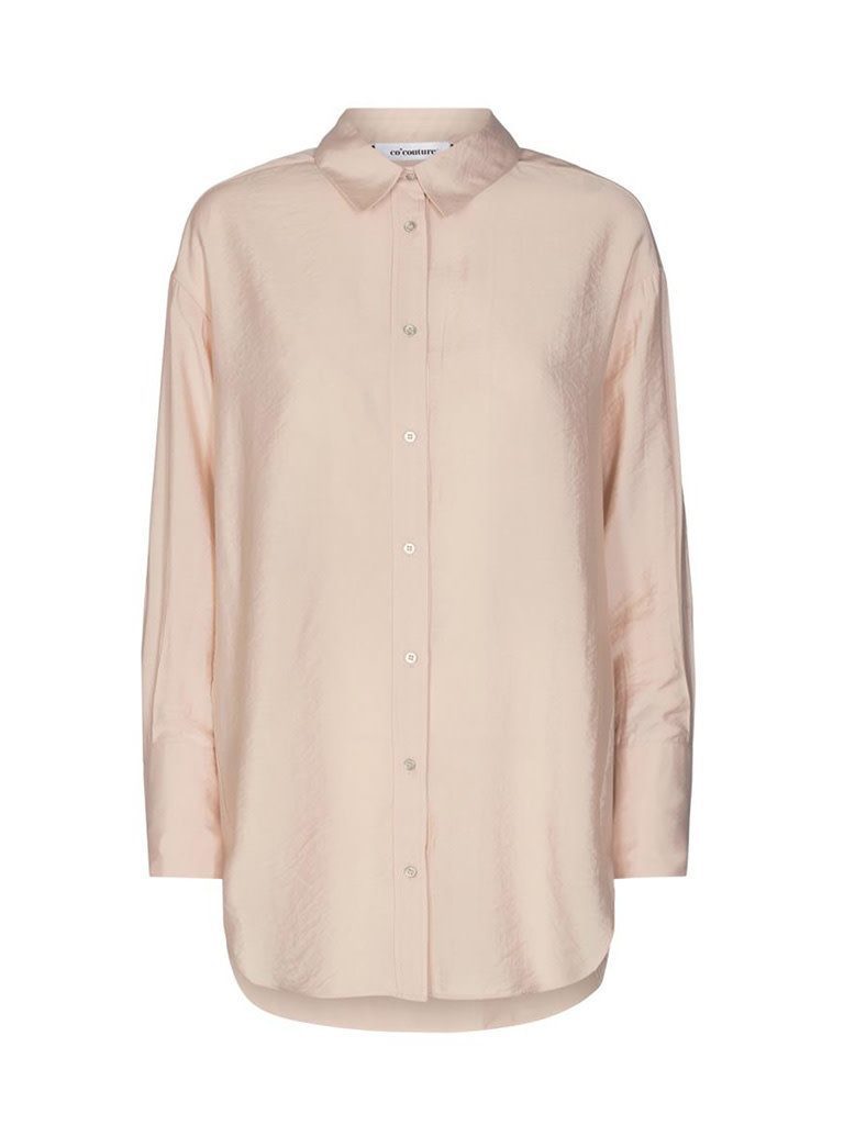 Co'couture Co'Couture Callum oversize shirt nude