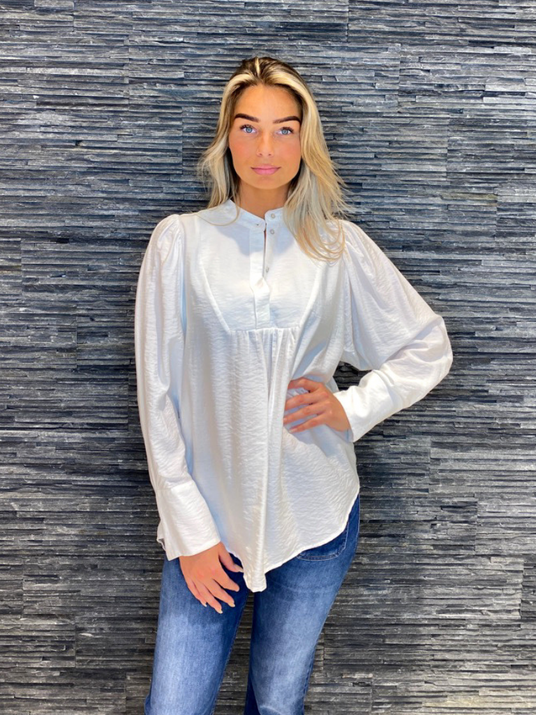 Co'couture Co'Couture Callum volume blouse wit