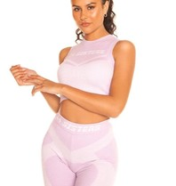 La Sisters LA Sisters Cropped knitted sporty two piece lila