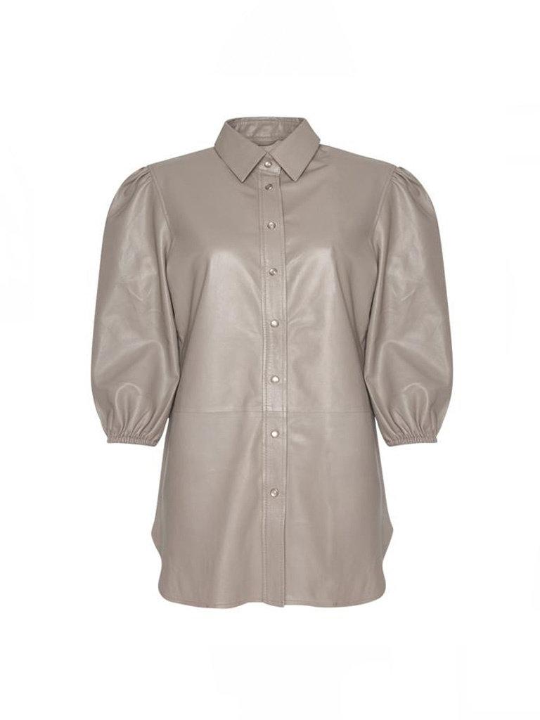 Est'seven Est'Seven Poppy blouse Simply taupe
