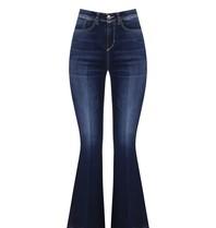 Rinascimento Rinascimento flared jeans blauw