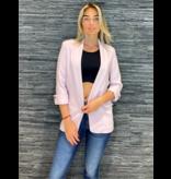 Rinascimento Rinascimento lange tuxedo blazer roze