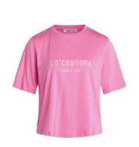 Co'couture Co'Couture Coco Club tee roze