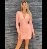 Elisabetta Franchi Elisabetta Franchi jurk vest rose