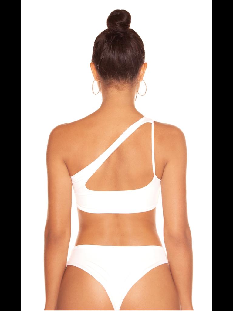 La Sisters LA Sisters Cut Out Bikini White