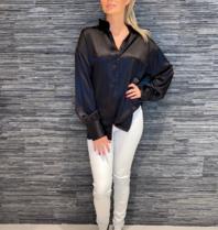 Est'seven Est'Seven One silk blouse black