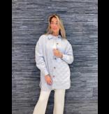 Untold Stories Untold Stories Fifth Oversized Shirt Ligt Grey Melange