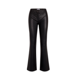 Co'couture Co'Couture Leon Leather Flare Pant Black