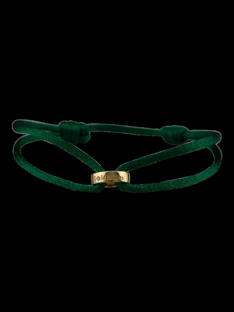 Goldbandits GoldBandits koord armband Make A Statement goud