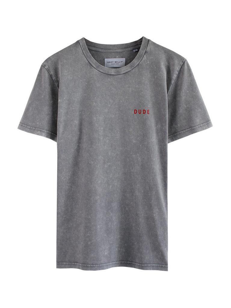 Grey belly Grey Belly T-shirt Dude lichtgrijs