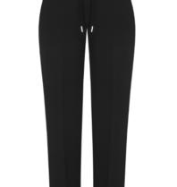 Rinascimento Rinascimento zwarte pantalon met riempje