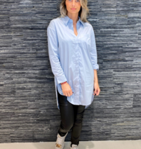 Co'couture Co'couture Hannah blouse lichtblauw