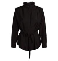 Co'couture Co'couture blouse Callum box schouder zwart