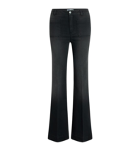 Co'couture Co'couture Piper Denzel flared jeans grijs