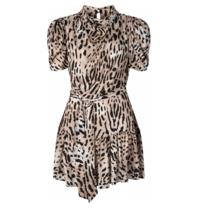 Ravn Ravn RAVN RAVN Lupe jurk luipaardprint multicolor