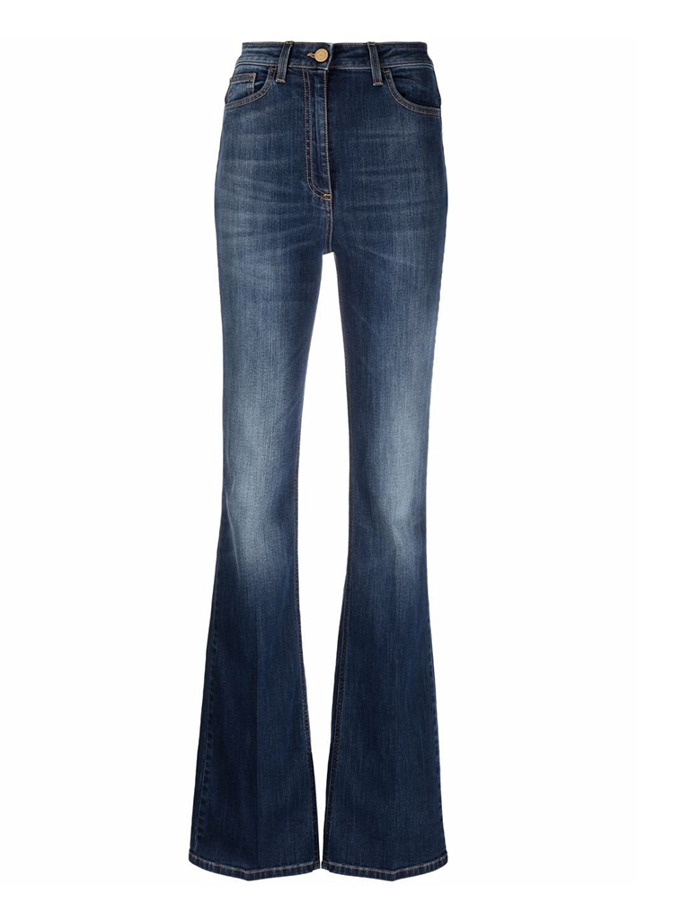 Elisabetta Franchi Elisabetta Franchi flared jeans blauw