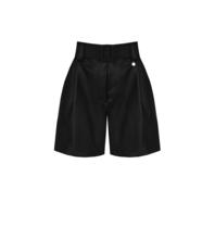 Rinascimento Rinascimento faux leather short met ceintuur zwart