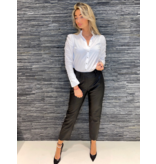 Co'couture Co'Couture Phoebe Leather Chino Black