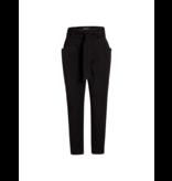 Co'couture Co'Couture Miya pocket pantalon met ceintuur zwart