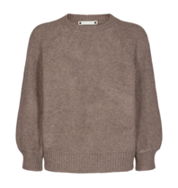 Co'couture Co'Couture Ruby knitted sweater bruin