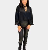 Est'seven Est'Seven Raf trousers zwart