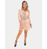 Elisabetta Franchi Elisabetta Franchi jurk beige