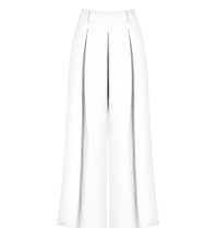 Rinascimento Rinascimento wijd uitlopende culotte wit