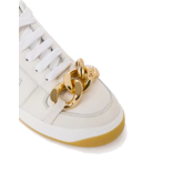 Elisabetta Franchi Elisabetta Franchi sneaker met ketting  wit