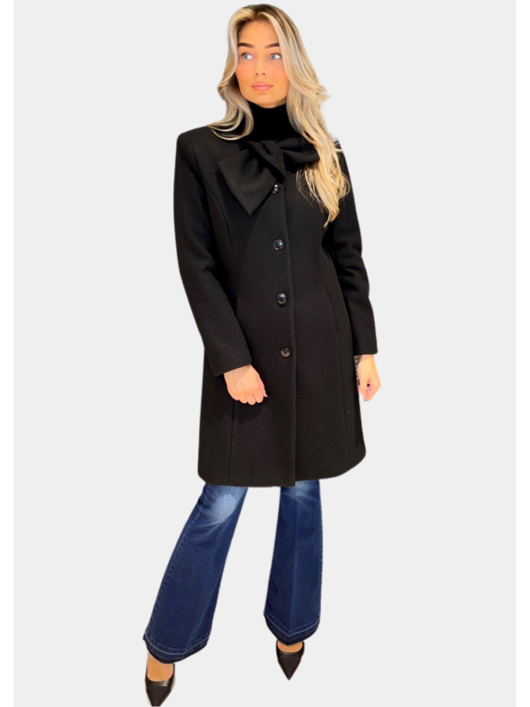 Rinascimento Rinascimento wollen jas zwart