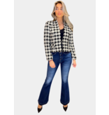 Rinascimento Rinascimento tweed jacket with lurex details wit