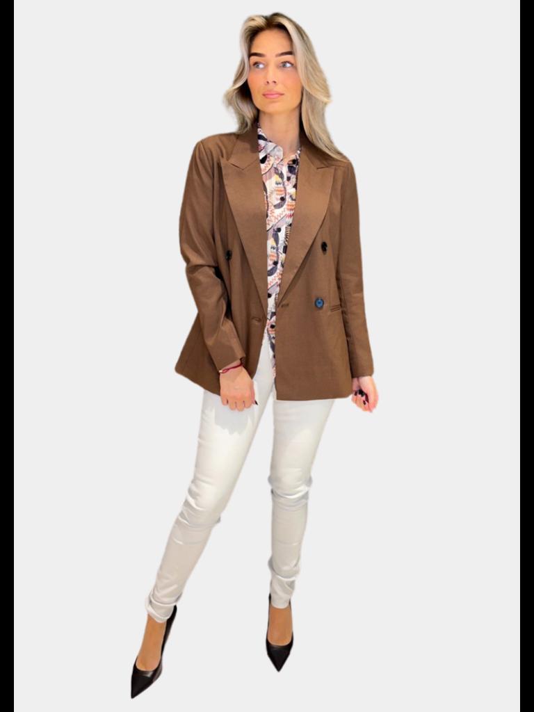 Co'couture Co'Couture Tame Oversized blazer bruin