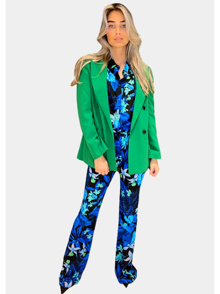 Co'couture Co'Couture Flash Oversized blazer groen