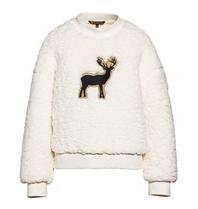 Goldbergh Goldbergh Deer teddy sweater off white